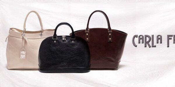 Elegantné kabelky Carla Ferreri