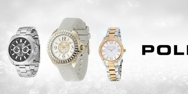 Luxusné hodinky Police