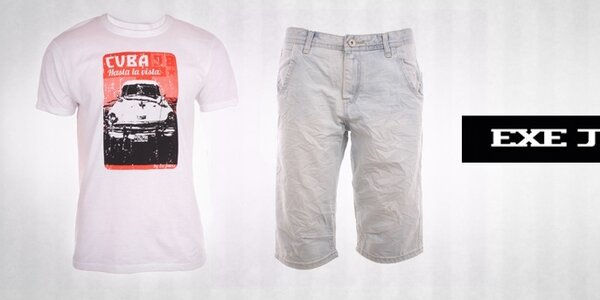 Pánske oblečenie Exe Jeans