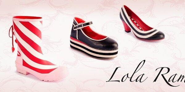 Lola Ramona - dámske topánky s názorom