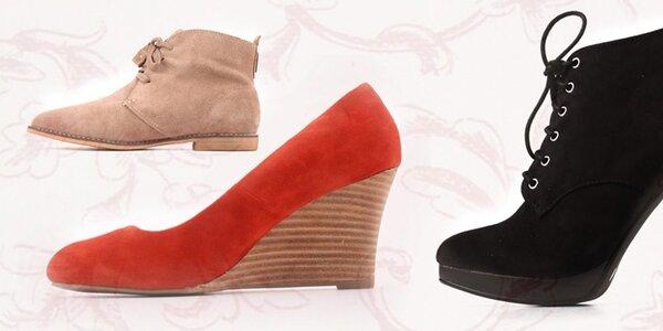 Štýlová jesenná obuv Elite Shoes
