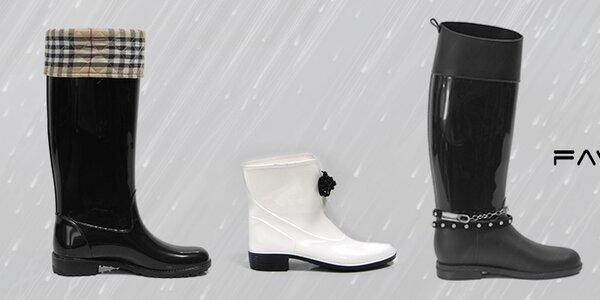Nepremokavé čižmy Favolla - daždivá jeseň s nohami v suchu
