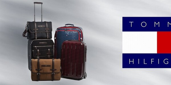 Luxusná cestovná batožina Tommy Hilfiger