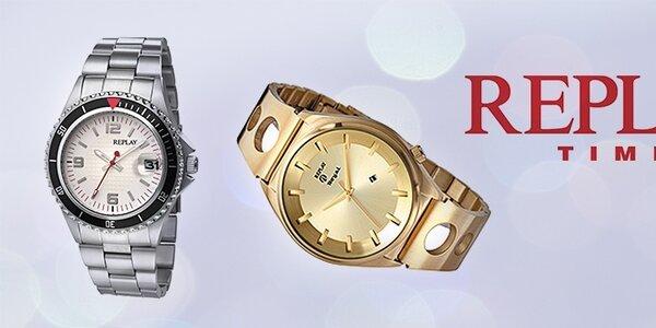 Luxusné hodinky Replay