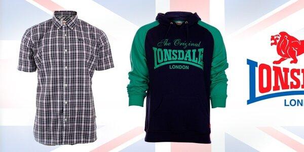 Pánske oblečenie od boxerskej ikony Lonsdale