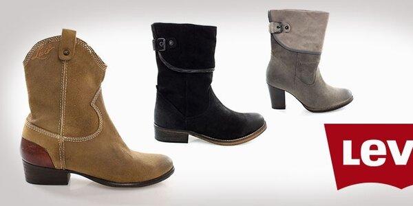Jesenné topánky Levi's- exkurzia do sveta kovbojov