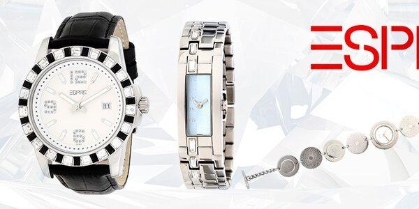 Tak ide čas - luxusné dámske hodinky Esprit