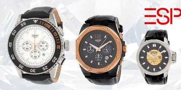 Tak ide čas - štýlové pánske hodinky Esprit