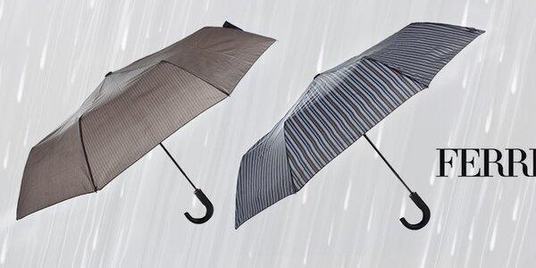 Rozkážeme vetru, dažďu - pánske dáždniky Ferré Milano
