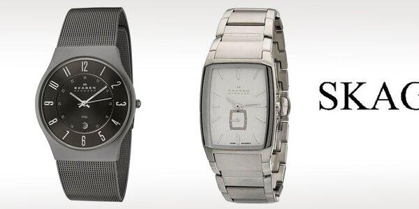 Luxusné hodinky Skagen - severský designový minimalismus
