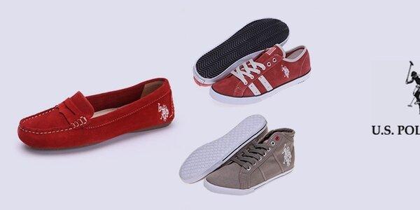 Športovo-elagantné dámske topánky U.S. Polo