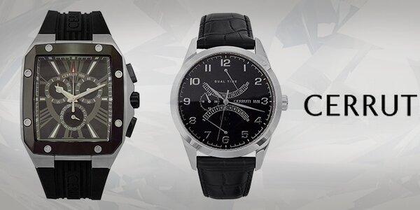 Hľadanie strateného času - pánske hodinky Cerruti 1881