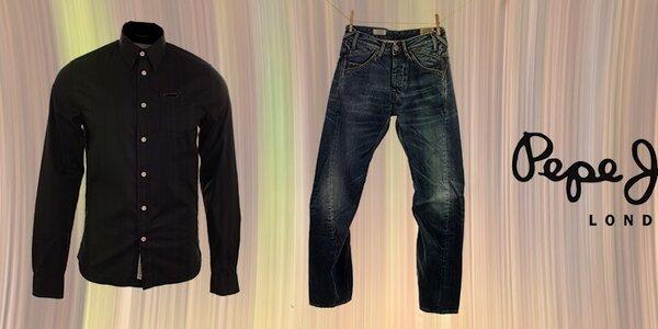 Značková pánska denimová móda Pepe Jeans