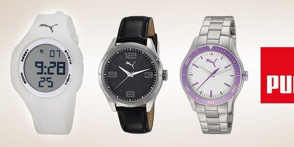 Buďte dochvíľna s hodinkami Puma