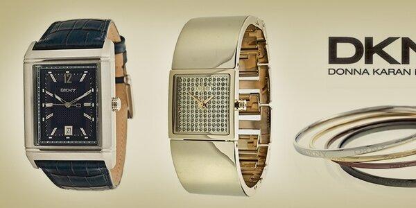 Elegantné dámske šperky a hodinky DKNY