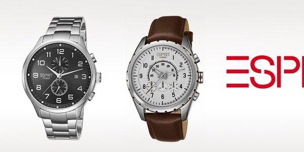 Pánske luxusné hodinky Esprit