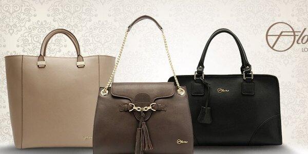 Sofistikované kožené kabelky Florian London