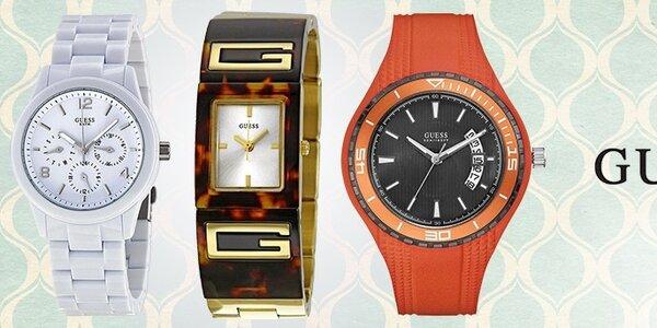 Načasujte si to s hodinkami Guess!