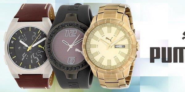 Športové a dizajnové hodinky Puma