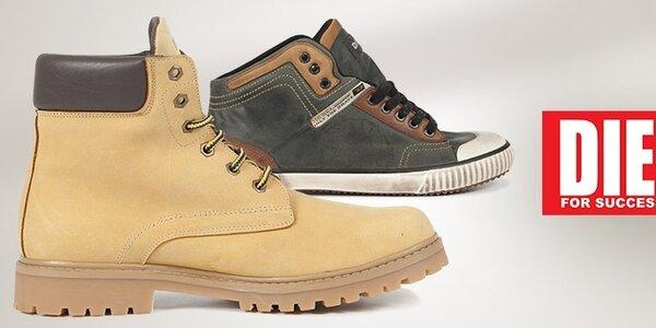 Štýlové pohodlie s pánskymi topánkami Diesel