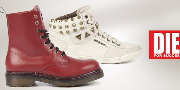 Štýlové pohodlie s dámskymi topánkami Diesel