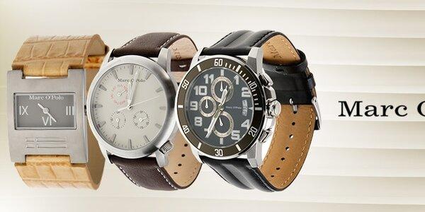 Elegantné dámske a pánske hodinky Marc O´Polo