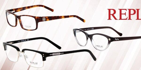Štýlový pohľad na svet s okuliarmi Replay