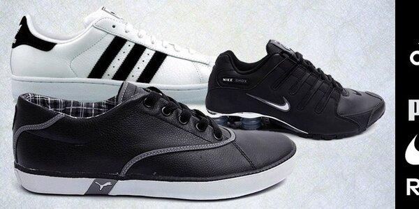 Pánske tenisky Nike, Adidas, Puma