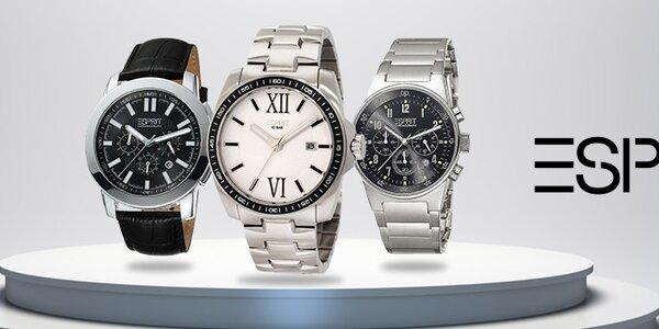 Štýlové pánske hodinky a doplnky Esprit