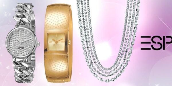 Elegantné dámske hodinky a šperky Esprit