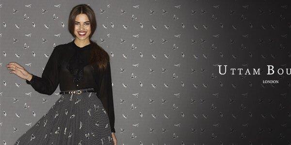 Romantická, veselá aj elegantná móda Uttam Boutique