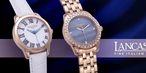 Luxusné dámske hodinky Lancaster