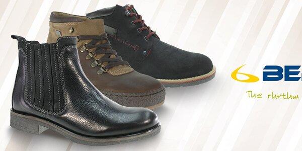 Štýlové a pohodlné pánske jesenné a zimné topánky Beppi