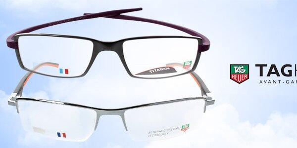 Luxusné dioptrické okuliare Tag Heuer