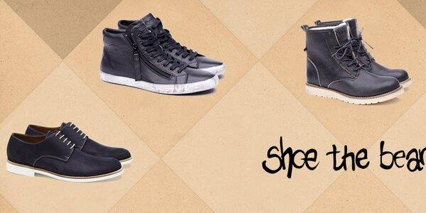 Jedinečná pánska obuv Shoe the Bear
