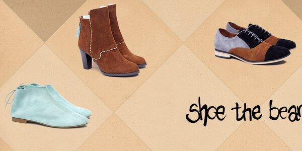 Jedinečná dámska obuv Shoe the Bear