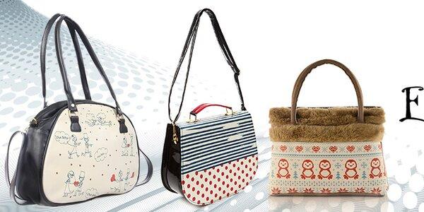 Veselé a originálne dámske kabelky Elite Goby