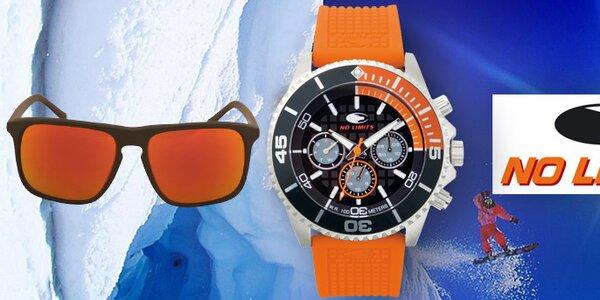 Dynamické dizajnové hodinky a slnečné okuliare No Limits