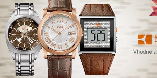 Elegantné pánske hodinky Hugo Boss Orange