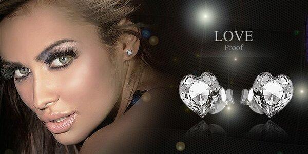 Strieborné šperky Silvexcraft Design ® Swarovski Elements ®