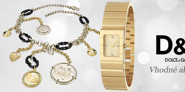 Luxusné hodinky a šperky Dolce & Gabbana