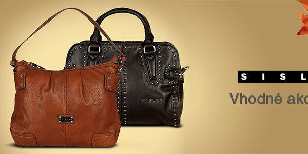 Módne dámske kabelky a tašky Sisley