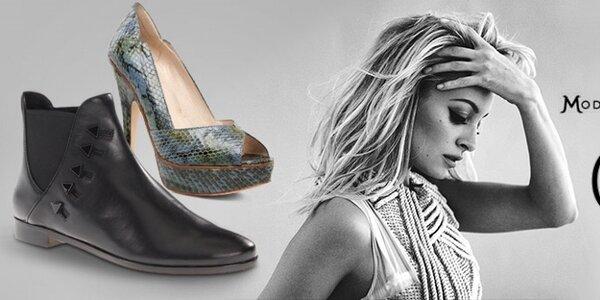 Extravagantná dámska obuv House of Harlow