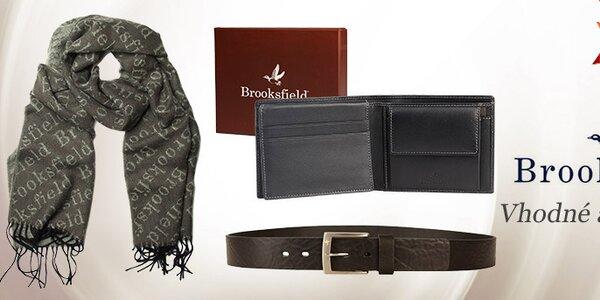 Pánske šály a peňaženky v britskom štýle Brooksfield