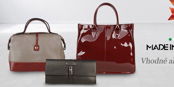 Elegantné dámske kabelky Made in Italia