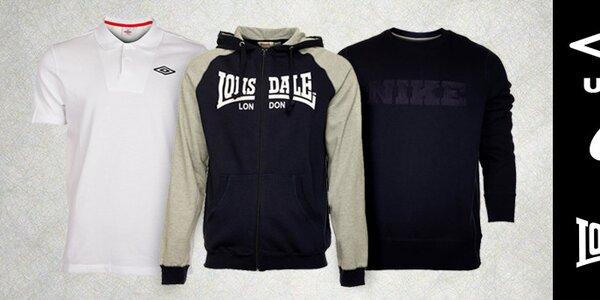 Kvalitné pánske športové oblečenie skladom už od 11,99€
