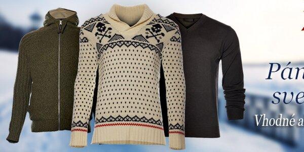Štýlové a hrejivé pánske svetre