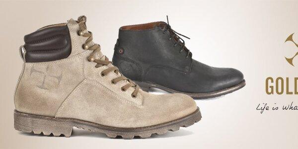 Goldmud - dokonalé a nadčasové pánske topánky