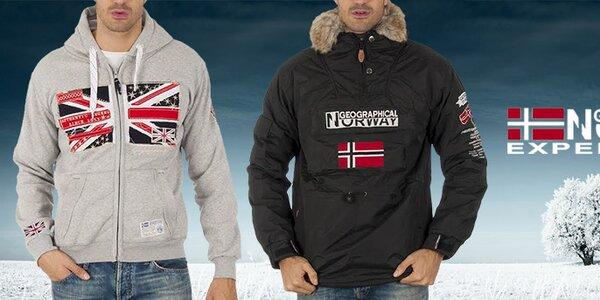 Pohodová pánska móda Geographical Norway