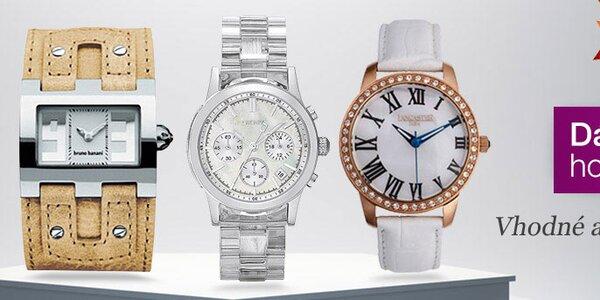 Štýlové hodinky pre milovníčky detailov aj minimalistky s doručením do 2 dní